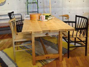 展示品 オークソウダイニングテーブル クリアランスセール