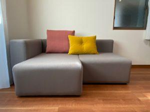 コンパクトなL型ソファー:HAY/ MAGS SOFA